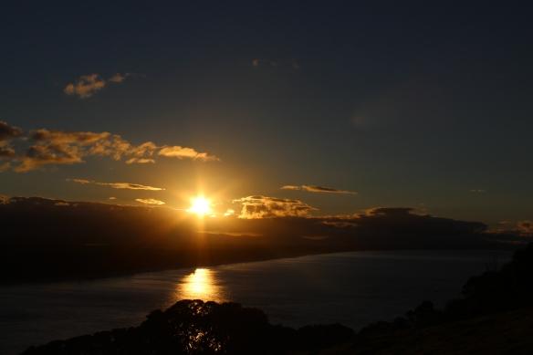 sunset tauranga