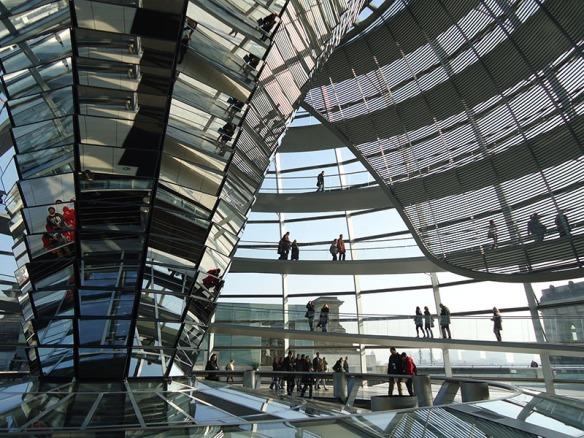 reichstag cupula parlamento alemão berlim alemanha