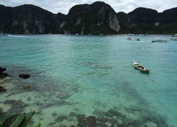 koh phi phi  tailandia super azul